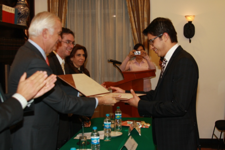 """Entrega del Premio: """"Pedro Aspe a la Excelencia Académica 2011"""""""