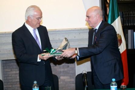 """Entrega del Premio: """"Pedro Aspe a la Excelencia Académica 2012"""""""