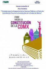 Foro hacia la Constitución de la Ciudad de México