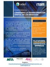 """Conferencia """"Liderando la transformación digital de los negocios"""""""